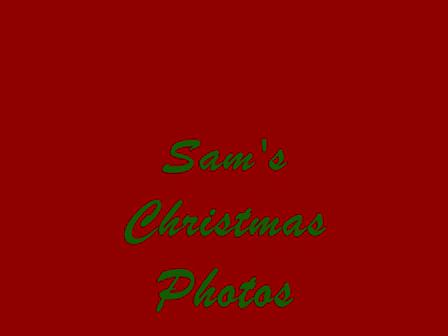 Sam's Christmas 2009