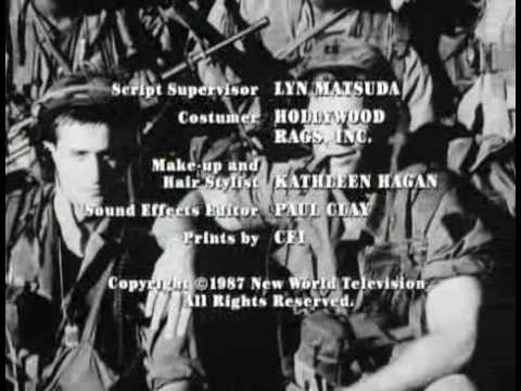 Tour of Duty - End Credits 1987 (Mision del Deber)