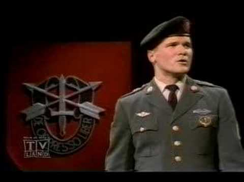 SSgt Barry Sadler, Ballad of the green beret