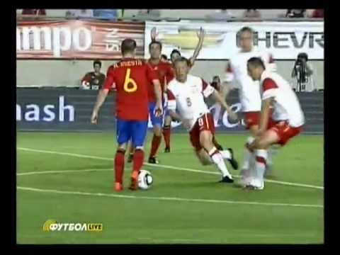 Great goal - Spain v Poland