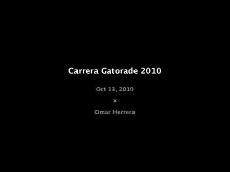 Carrera Gatorade 2010