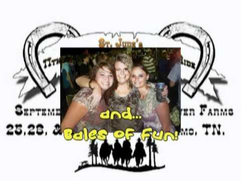 2009 St.Jude Buck Creek Trail Ride Video 1