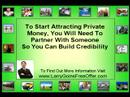 Real Estate Training Courses   How To Get All The Private Money You Will Ever Need