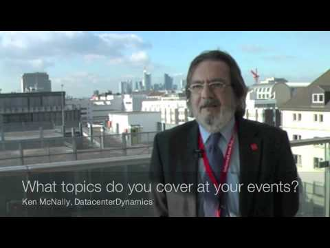 Interview with Ken McNally at eco's Kick-Off Meeting: Datacenter Expert Group