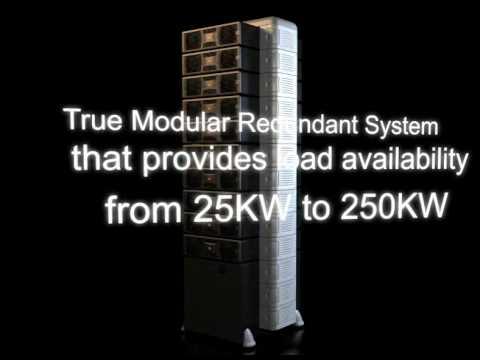 Mega Power+ UPS System 250Kva Modular