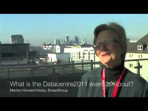 Interview with Marion Howard Healy at eco's Kick-Off Datacenter Expert Group