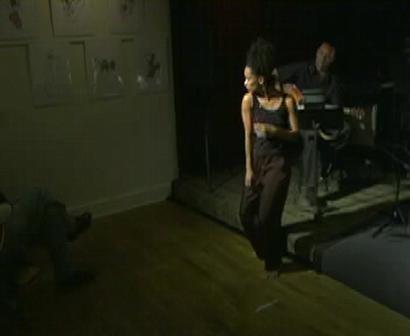 Judith Sanchez Ruiz at Henry Threadgill's Concert, 2008