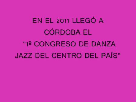 CONGRESO 2012 danza jazz-cordoba argentina