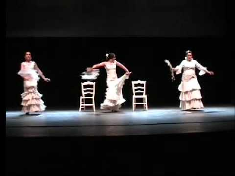 alumnas del estudio flamenco carmen de torres