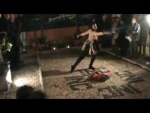 VOLICIONES Coreografia de JESUS ALEGRIA  (Perú) y la ejecucion de SARAH FROYER (Francia) funcion INC
