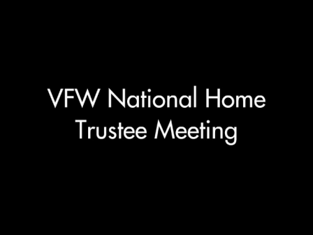 VFW National Home Trustees Meeting