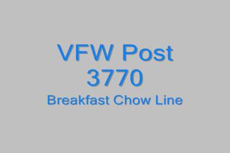 Post 3770 Breakfast Chow Line