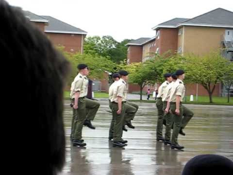 army drill demonstration - your opinion