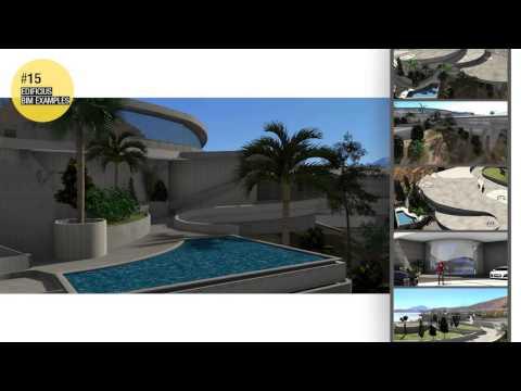 Edificius BIM EXAMPLES #15 - La casa de Tony Stark, Iron Man