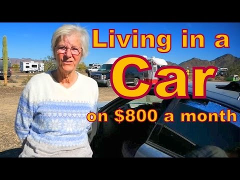 Living in a Car on $800 a Month