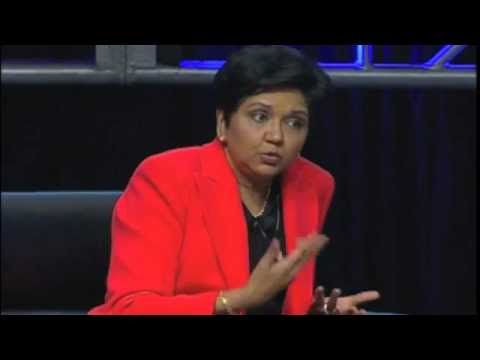 """Following Your Dreams"" with Indra Nooyi, PepsiCo Chair/CEO and Working Mom"
