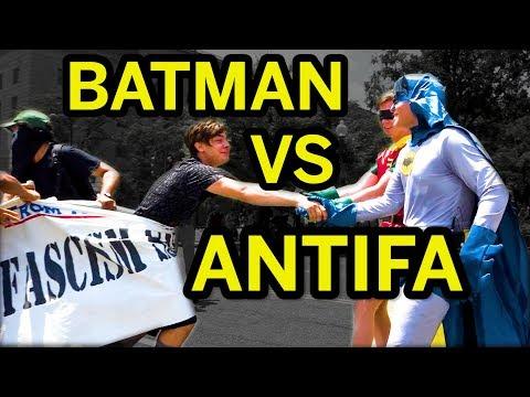 Batman vs Antifa