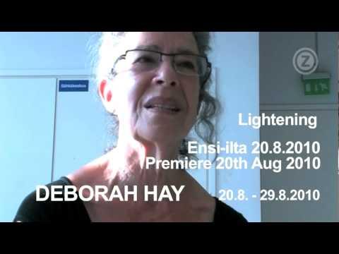Lightening - Deborah Hay - Interview