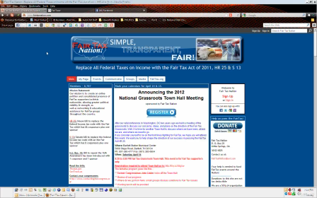 FairTaxNation_-_Setting_up_your_Home_page
