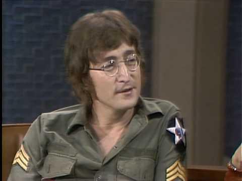 John Lennon on the Dick Cavett Show Part 1