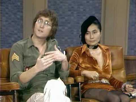 John Lennon Yoko Ono on Dick Cavett part 2