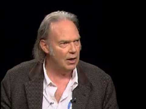 Neil Young Talks to Charlie Rose