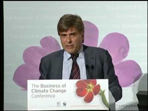 Jeff Rubin gives an incendiary speech at the Business of Climate Change Conference 09