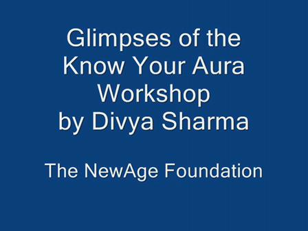 Glimpses- Know Your Aura Workshop