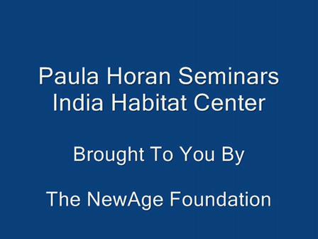 Paula Horan Seminars - Part 1