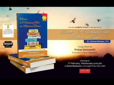 Excerpts of Shivani Khetan's Book Launch - Tarot A Healing Tool In Modern Times