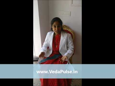 Dr Aruna Vishwanathan about VedaPulse Holistic Diagnosis Device