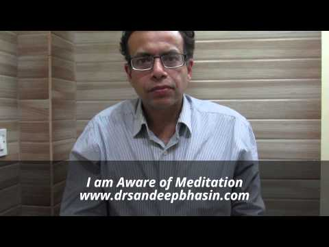 I am Aware of Meditation