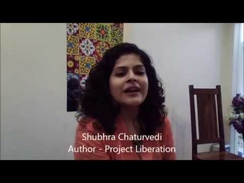 "Shubhra Introduces Her Book   ""Project Liberation"""