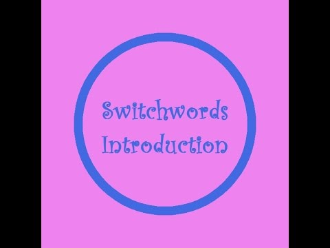Switchwords Introduction by The Founder Kat Miller