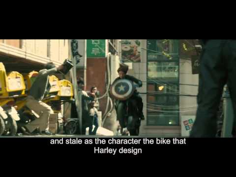 """Behind the Scenes  Harley Davidson Project LiveWire in Marvel's """"Avengers  Age of Ultron"""""""