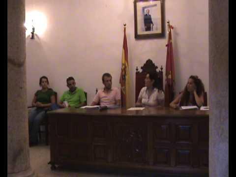 Sesión Ordinaria del Ayuntamiento de Logrosán 24-9-09_2