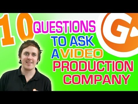 10 Questions to ask a production company