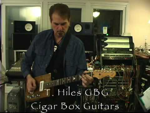 T. Hiles CBG - Will Ray Model cigar box guitar!