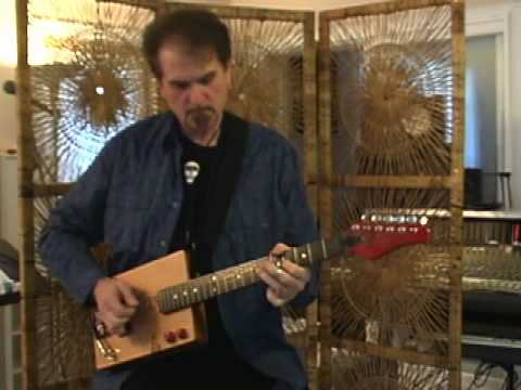 T. Hiles CBG - Cigar Box Guitars