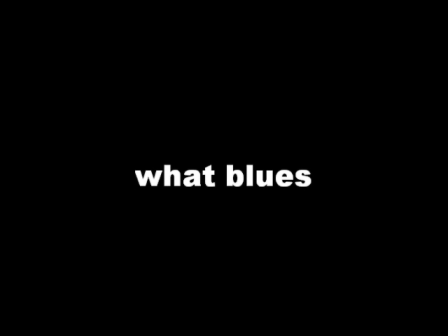 what blues