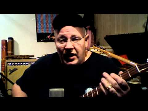 cigar box guitar (going up the country by canned heat) Ice Bob