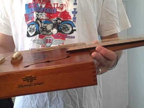Really LOUD cigar box guitar....lots of deep tone