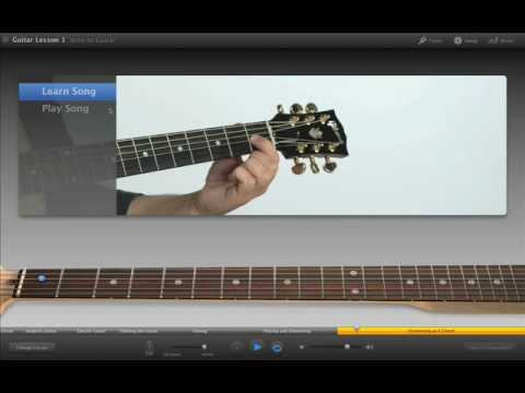 001 Apple iLife GarageBand Learn to play guitar