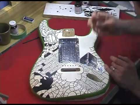 Stratocaster Speed Painting