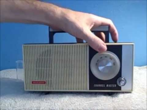 Radio Guitar Amp~ 1966 channel master AM Radio