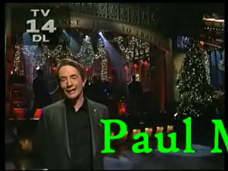 Paul McC on a CBG on SNL