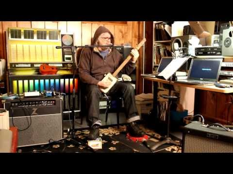Beer and Whiskey Coffee and Cigarettes - Jeff Powers - Cigar Box Guitar