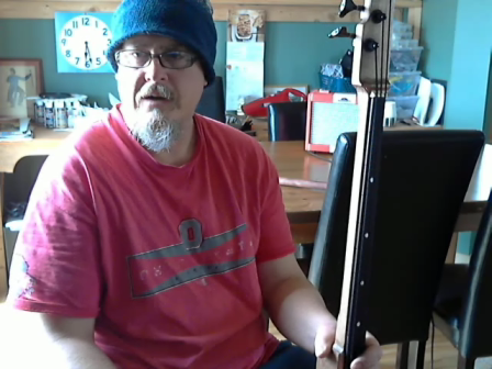 Farmer Ted's Walking Stick Bass--sound test