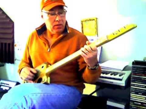 Stormy Monday Blues on a Cigar Box Guitar