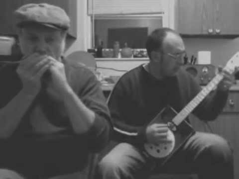 Gravel Road Blues cover Cigar Box guitar / harmonica